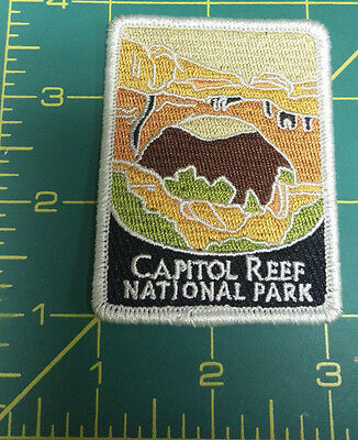 New Traveler Series Patch - Capitol Reef National Park - Utah - Embroidered