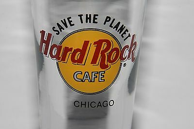 Hard Rock Pilsner Glass CHICAGO