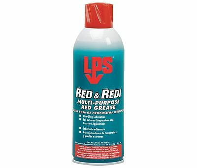 Red and Redi Multi-Purpose Red Grease - multi-purpose aerosol red grease #05816