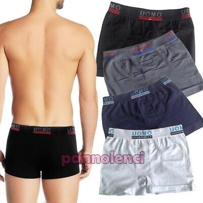 Boxer man underpants basic microfibre sport intimo shorts new F7005