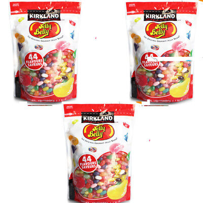 Jelly Belly Beans 3x1.1Kg Bulk 44 Flavours Original USA Jelly Belly Gourmet Bean