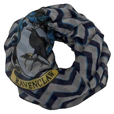 Harry Potter Ravenclaw House Hogwarts Lightweight Infinity Scarf Stripes