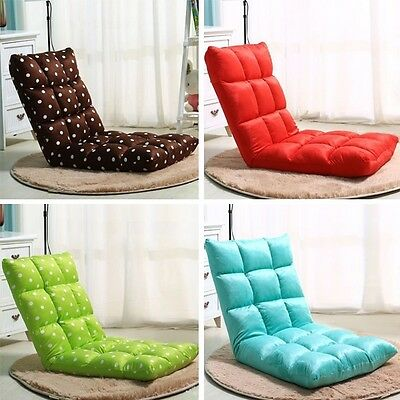 Tide Beanbag Small Sofa Chair Foldable Floor Window Bed Home Lazy Lounge Tatami
