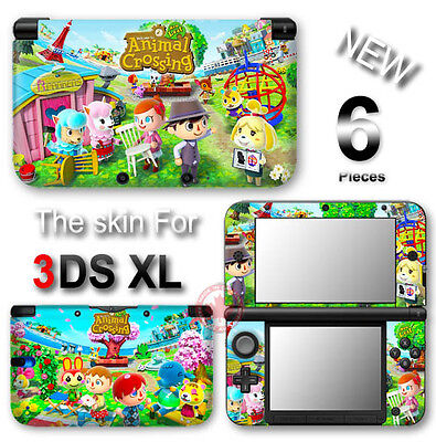 Animal Crossing New Leaf VINYL SKIN STICKER DECAL COVER #2 for Nintendo 3DS XL