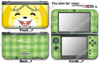 Animal Crossing Happy Home Designer Skin Sticker Cover Decal #2 for NEW 3DS XL