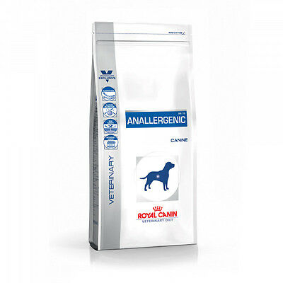 Croquettes Royal Canin Veterinary Diet Anallergenic pour chiens Sac 3 kg
