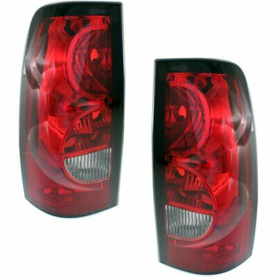 Pair Tail Lights Lamps Set of 2 New Right-and-Left Chevy Styleside LH & RH