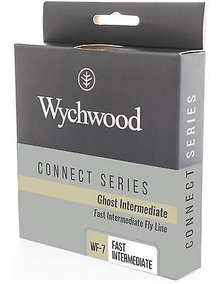 Wychwood Connect Series Fly Line Ghost Fast Intermediate Fishing Game WF6-8