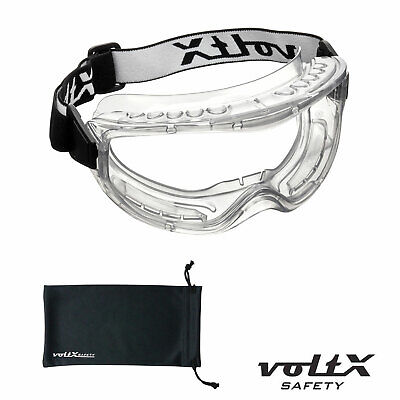 voltX DEFENDER BIFOCAL Reading Safety GOGGLES Clear, Brown & Yellow. CE EN166FT