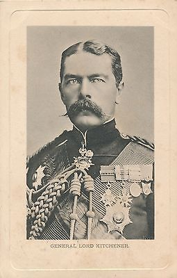 POSTCARD  PERSONS  MILITARY  Lord Kitchener