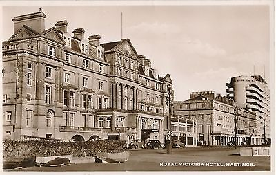POSTCARD  HASTINGS  Royal  Victoria  Hotel