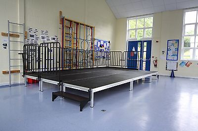 5mx3m Portable Stage, Modular Stage System, School Indoor/Outdoor Staging