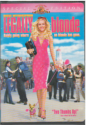 LEGALLY BLONDE (DVD, 2001, Includes Insert)