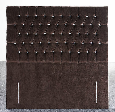 Quality Floor Standing Chesterfield  Headboard In 4Ft6 And 5Ft