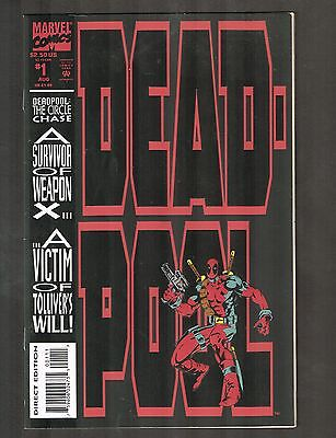"DeadPool: Circle Chase #1 ~""Ducks in a Row!""/ Madureira Art & Cvr~ 1993 (7.0) WH"