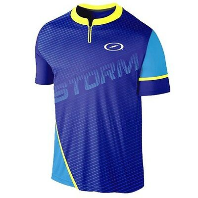 Storm Trigger Mens Bowling Jersey Blue/Yellow/Teal