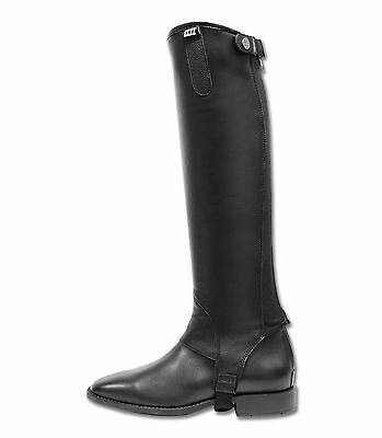 Elt Exclusive Half Chaps Black XSmall *Imported From Germany*