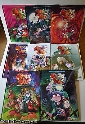 lot of 8 MONSTER ALLERGY French Comic Books BD Soleil Edition