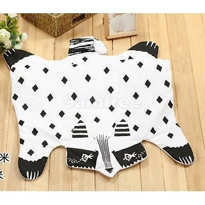 Cotton Animal Shaped Floor Mat Baby Infant Play Crawling Summer Quilt Fox