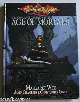 DRAGON LANCE AGE OF MORTALS Campaign BOOK #4001 Dungeons & Dragons