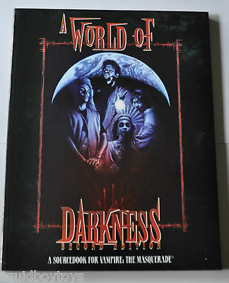 Vampire The Masquerade A WORLD OF DARKNESS Second Edition WW2226
