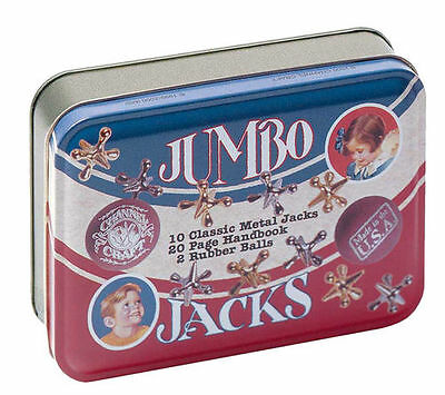 JUMBO JACKS Game Classic Series in a Tin Box Made in USA Channel Craft TOYS