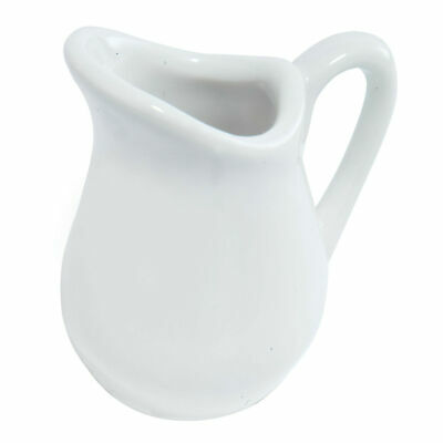 Eddingtons Porcelain Mini Cream Jug - Individual Mini Milk Jug 25ml