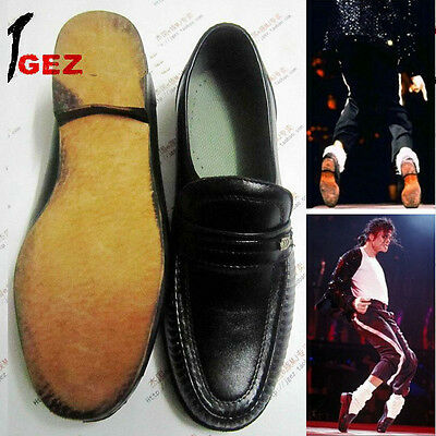 Rare MJ Michael Jackson Classic Collection Easy Moonwalk Dancing Shoes Show 4aaf342719f8