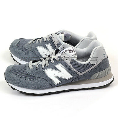 New Balance ML574VIA D Grey & Light Grey & White Classic Lifestyle Shoes NB