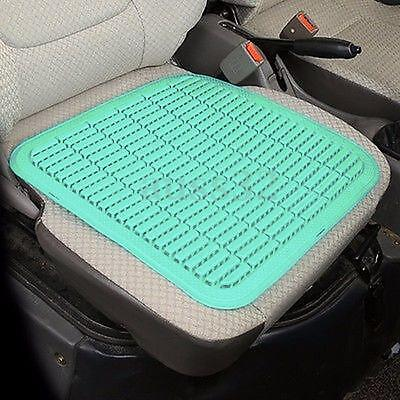 Summer Plastic Breathable Cool Massage Car Seat Cushion Auto Home Chair Cover