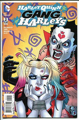 Harley Quinn And Her Gang Of Harleys #2 Conner Variant 1:25  Dc Comics 2016 Nm-