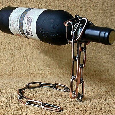 Magic Chain Red Wine Holder Home Decoration Party Supplies Beer Bottle Rack