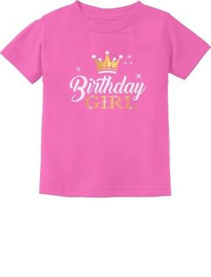 Birthday Girl Princess Party Cute Girly Toddler/Infant Kids T-Shirt Gift