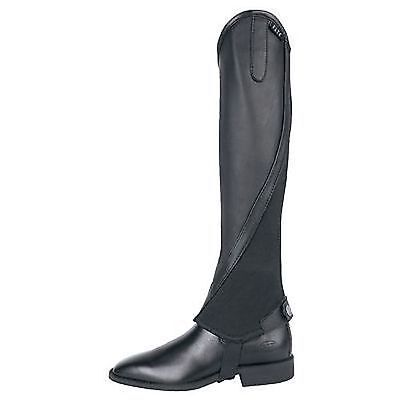 Elt Elegance Half Chaps Black Small Leather Imported From Germany