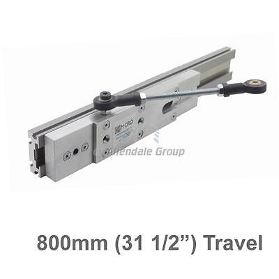 "800mm (31 1/2"") Guided Carriage and Linear Rail for M-DRO Magnetic Encoders"
