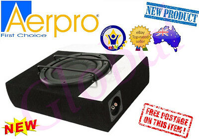 "Aerpro E10F 10"" 250W Slim Profile Ute Loaded Enclosure Subwoofer Box Sub Car"