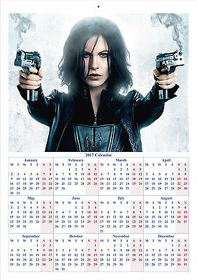 Underworld Awakening - 2017 A4 CALENDAR **BUY ANY 1 AND GET 1 FREE OFFER**