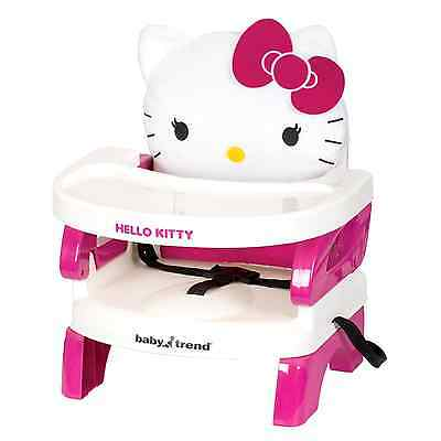 Baby Trend Portable High Chair Seat Toddler Booster Hello Kitty Feeding Supply