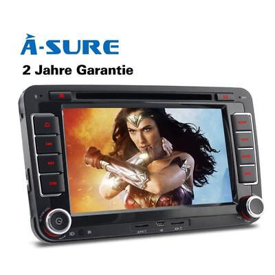 DVD GPS für VW GOLF 5 6 PASSAT TIGUAN TOURAN Sharan POLO Caddy SEAT Autoradio