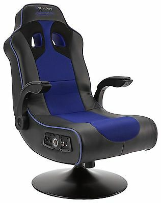 X-Rocker Adrenaline Chair  with blue tooth +vibration USB port HR20.