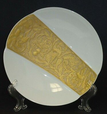 Rosenthal Classic Gold Plated Display Plate By Helmut Drexler