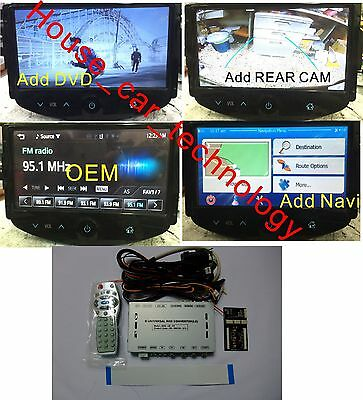 Video Interface for chevrolet Trax/Sonic/Spark MYLINK Add gps/dvd/rear camera