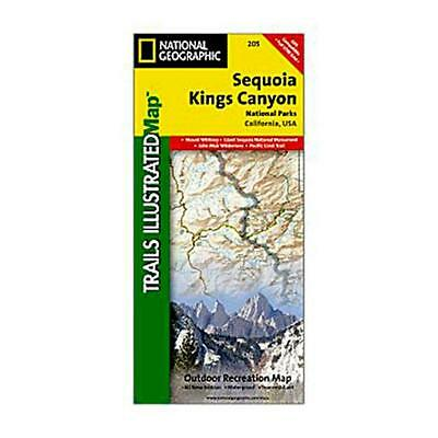 National Geographic 603165 250 Sequoia and Kings Canyon National Park California