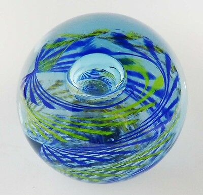 Rare Caithness Glass Paperweight - Limited Edition - Impulse - #56/750