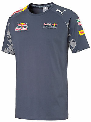 6745773e57f6 Authentic Puma Red Bull Racing Tag Heuer F1 2016 Men Team T-Shirt 761953 01