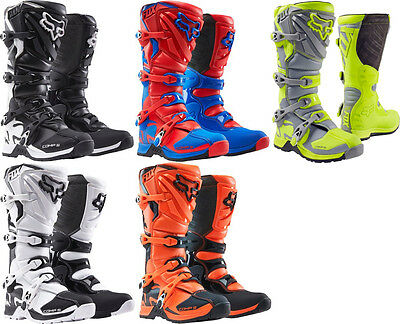 Fox Racing Mens Comp 5 Motocross MX Riding Boots