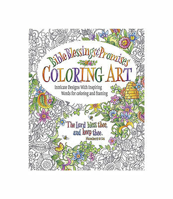 Adult Bible Blessings & Promises Coloring book