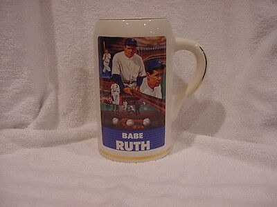 Babe Ruth '88 Sports Impressions Sultan of Swat 8 Inch Stein, New York Yankees!