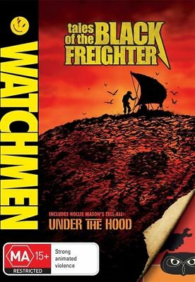 Watchmen Tales of The Black Freighter Region 4 DVD Brand New Sealed