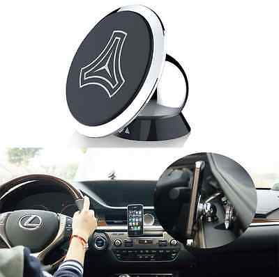 Universal 360° Rotating Sticky Car Magnetic Stand Holder For Mobile Phone GPS
